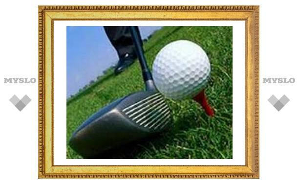 Слепая гольфистка забила мяч со 130 метров