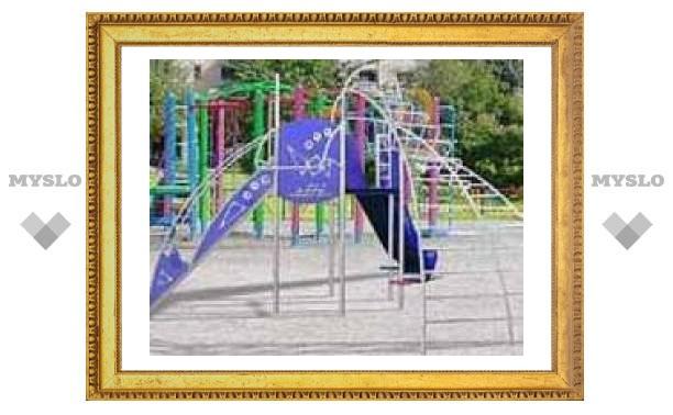 Детские площадки в Туле опасны для здоровья ребятни