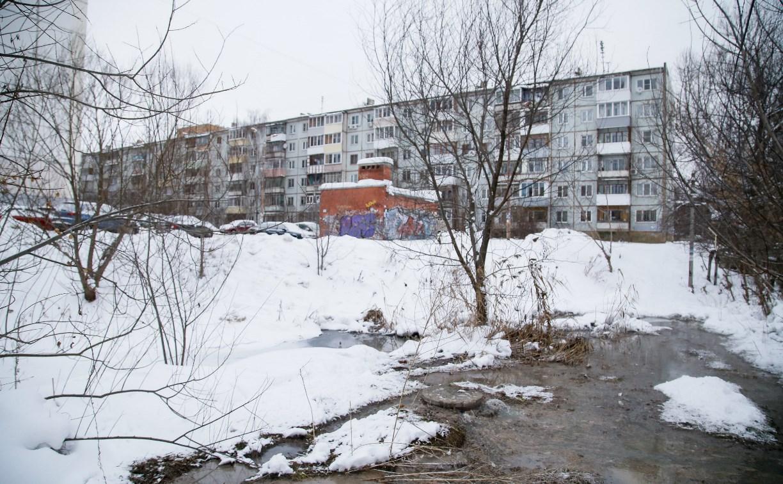 В Туле на Зеленстрое в пруд вновь сливается канализация