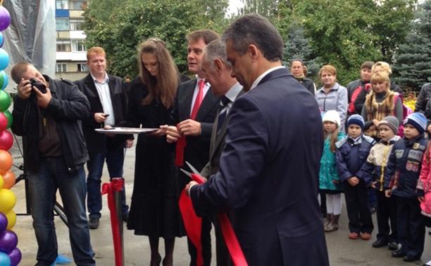 Владимир Груздев о новом детском садике в Новомосковске: «Здесь здорово!»