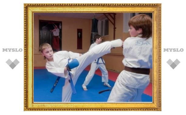 Тульские каратисты отличились на олимпиаде боевых искусств