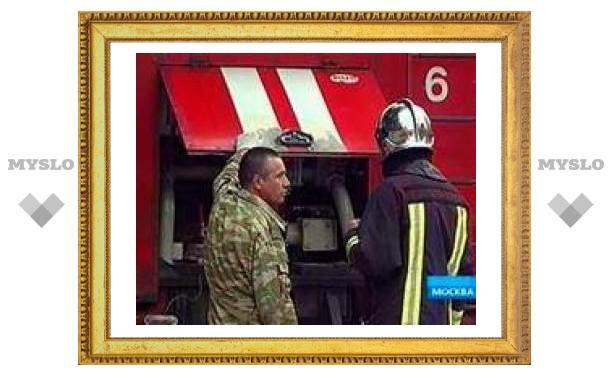 Пожар в общежитии на востоке Москвы потушен
