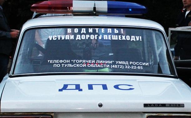 Под Тулой «Волга» улетела в кювет