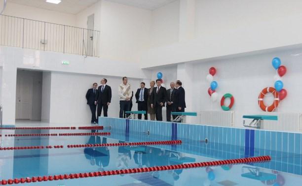 13 ноября бассейн на ул. Гармонной примет первых посетителей