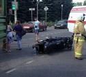 В Плавском районе трактор сбил мотоциклиста