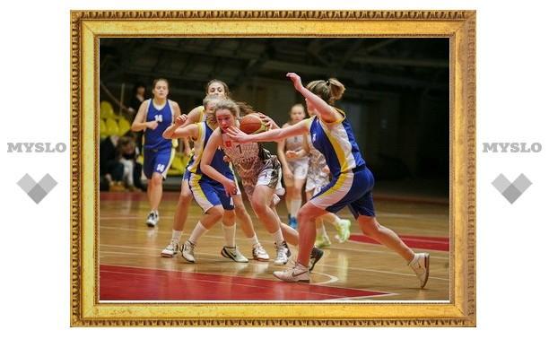 СК «Тула-Баскет» одержал первую победу в первенстве