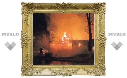 В Туле сгорела ветлечебница