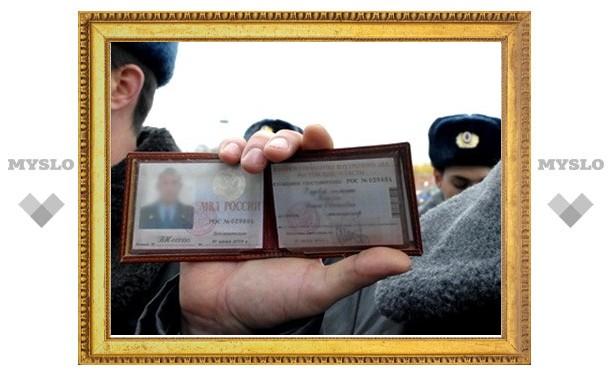 В Туле задержали фальшивого фээсбэшника