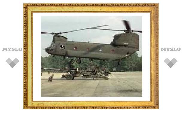 В Афганистане сбит вертолет НАТО