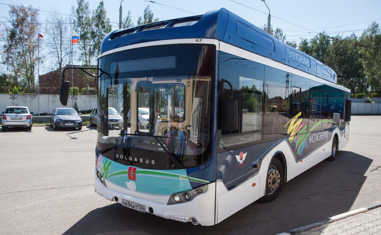 В Туле протестировали новый электробус