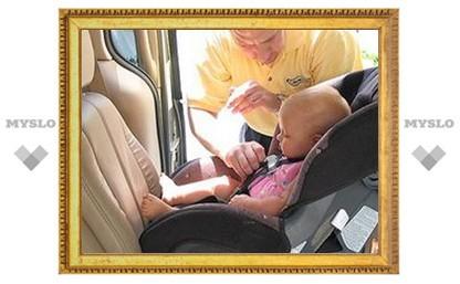 Детское кресло спасло ребенка под Тулой