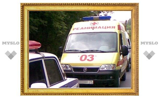 В Туле внедорожник сбил мужчину на пешеходном переходе