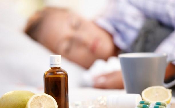 В Тульской области превышен эпидемический порог по ОРВИ и гриппу среди детей