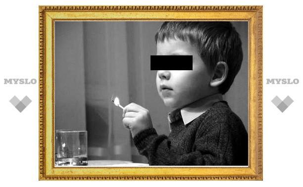 В Тульской области 2-летний ребенок поджег брата