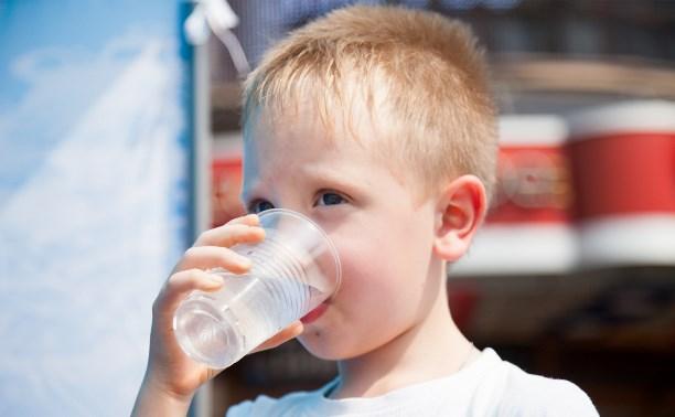 В Туле бесплатно раздают питьевую воду