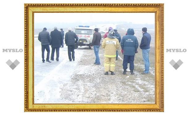 Под Тулой женщина спаслась в ДТП, но тут же была насмерть сбита иномаркой