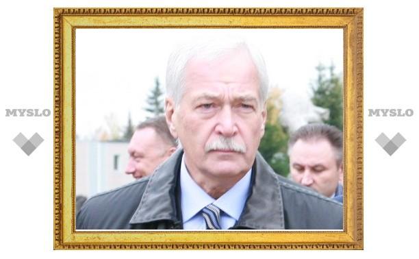 Что пообещал тулякам Борис Грызлов?