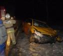 В ДТП с грузовиком в Тульской области пострадал таксист
