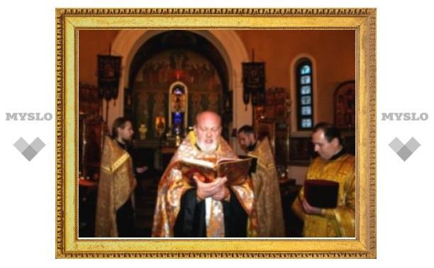 В православных храмах Минска молятся о прекращении эпидемии гриппа