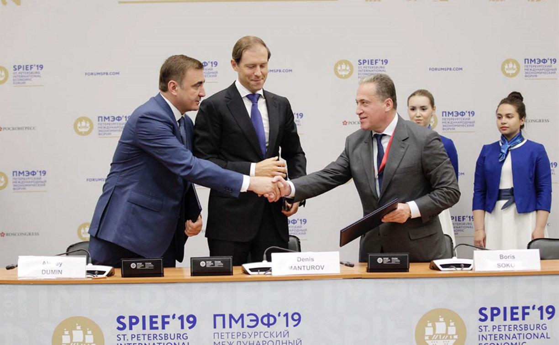 Какие соглашения подписала на ПМЭФ-2019 компания «Щекиноазот»