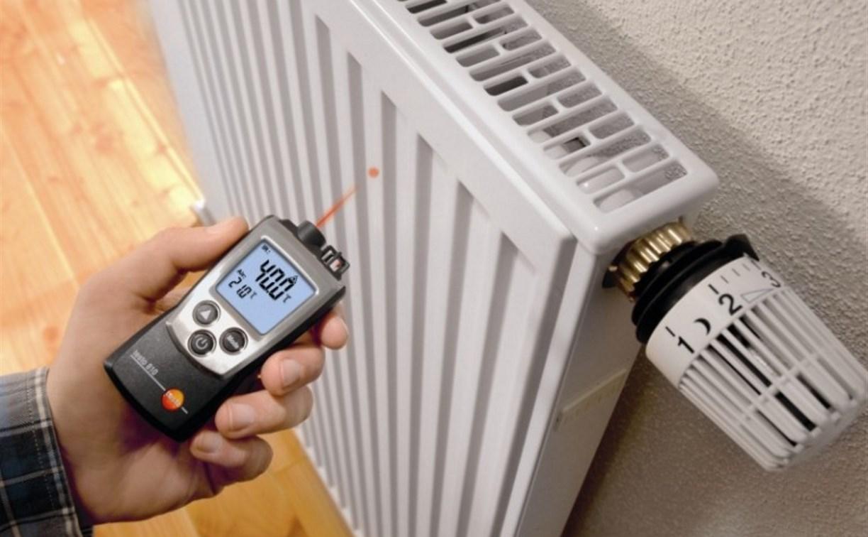 В домах Тулы началась проверка качества подачи тепла