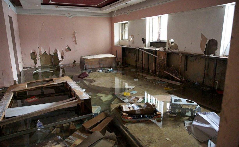 В Туле затопило памятник архитектуры