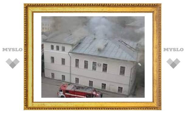 В сгоревшем суде Тулы подсчитали ущерб
