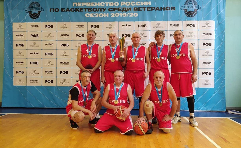Ветераны баскетбольного «Арсенала» одержали победу на первенстве России