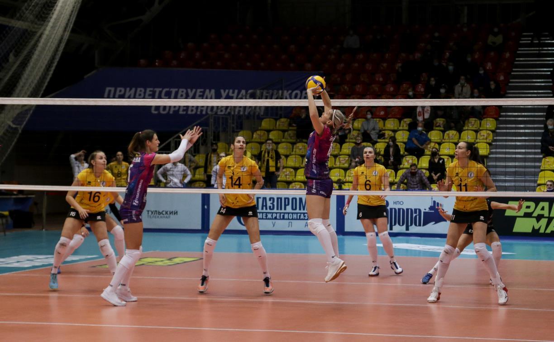 Волейболистки «Тулицы» приглашают болельщиков на домашний матч