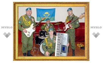 Тульские десантники стали музыкантами