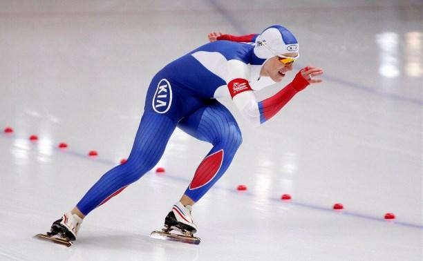 Тульский конькобежец – в шестерке лучших на первом этапе Кубка России