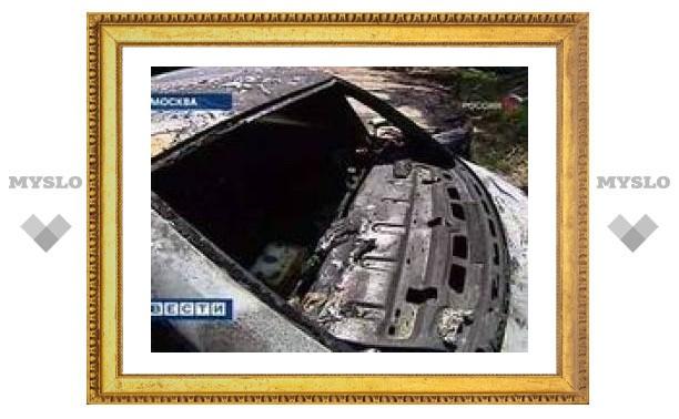 За ночь в Москве сгорели семь автомобилей