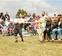 Богатыри тульские и московские сошлись в битве на Куликовом поле