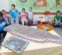 Пациенты Детской областной больницы получили в подарок «пряничного воина»