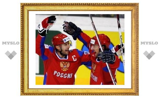 Сборная России по хоккею победила Швецию
