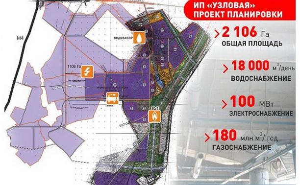 Строительство узловского индустриального парка начнется в мае