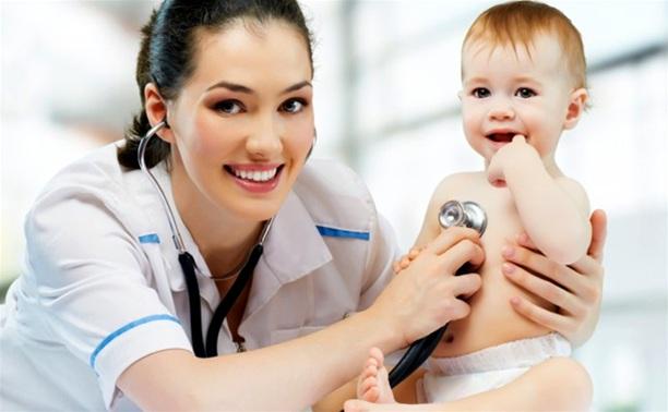 Детские врачи осмотрят маленьких жителей Тулы и области
