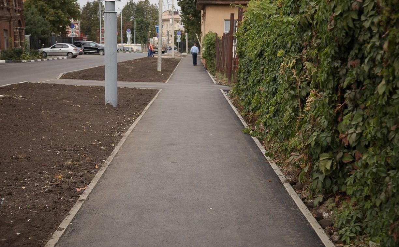 Где в Туле в 2019 году отремонтируют тротуары: список