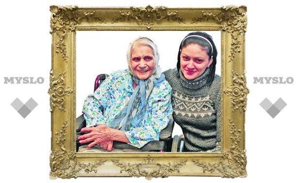Серафима Горюшкина: Нашу семью бережет святая Матронушка