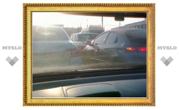 Туляки жалуются на отсутствие на дорогах необходимой разметки