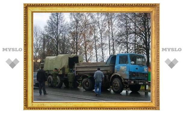 Водитель МАЗа не пытался сбежать после столкновения с авто Шаманова