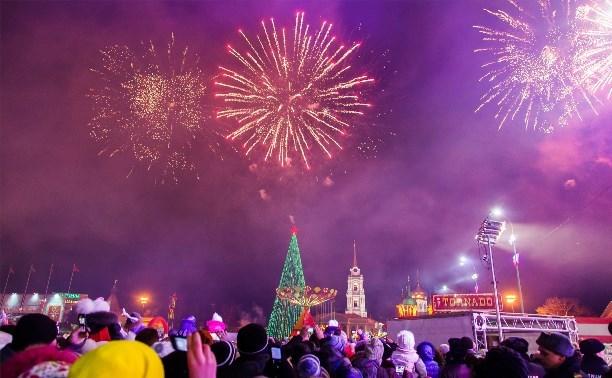 На новогодних праздниках за безопасностью в Туле будут следить почти 2000 полицейских