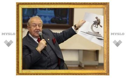 Церетели наградил Груздева