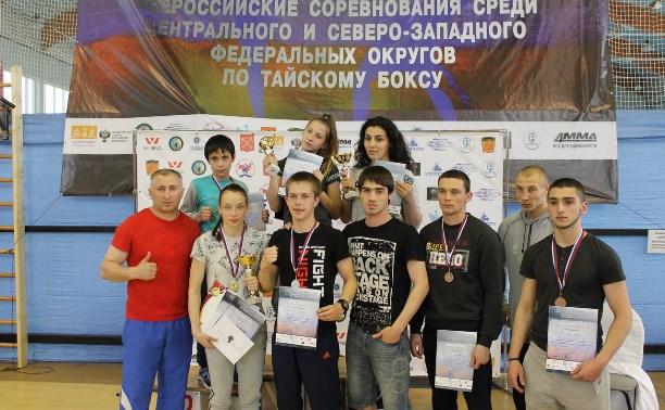 Туляки успешно выступили на соревнованиях по тайскому боксу в Санкт-Петербурге