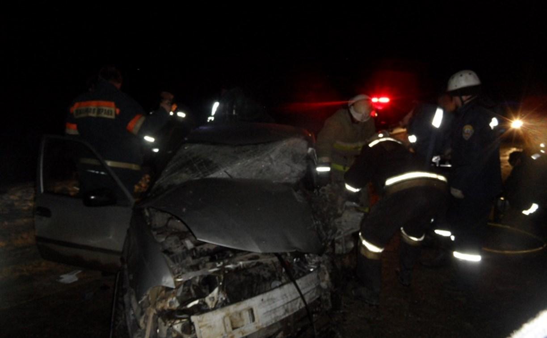 Под Тулой в аварии погиб мужчина