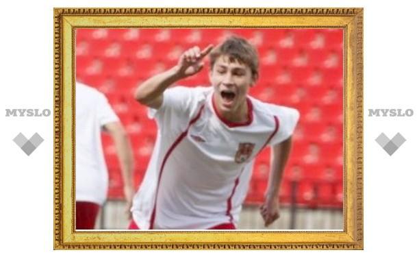 Лучшим футболистом тульского «Арсенала» стал Павел Белянин