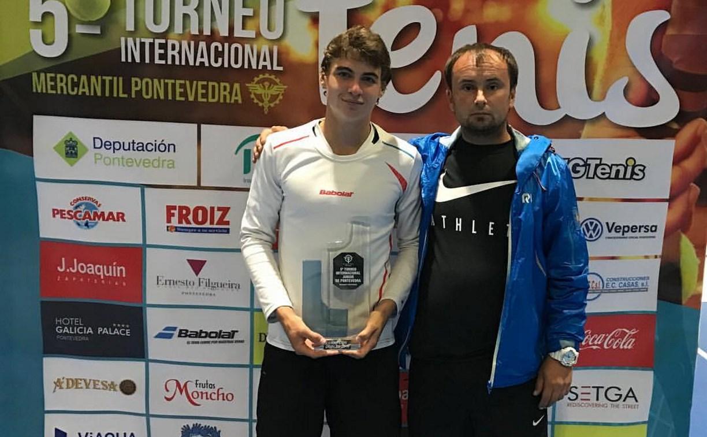 Туляк Скатов выиграл международный теннисный турнир в парном разряде