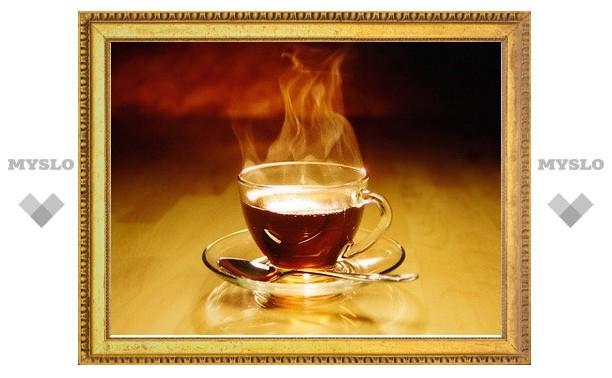 Тульская полиция поит бездомных горячим чаем