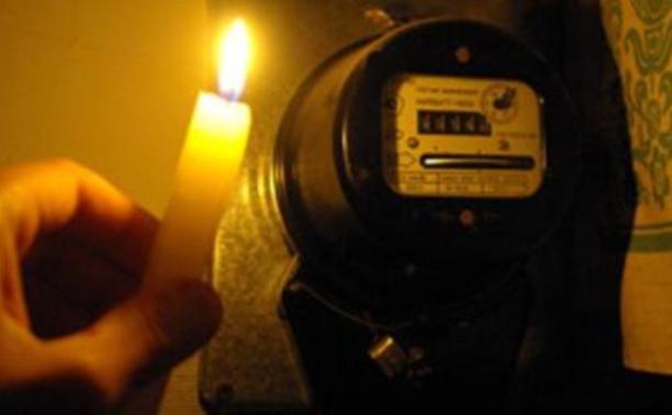 Половина жителей Болохова остались без света