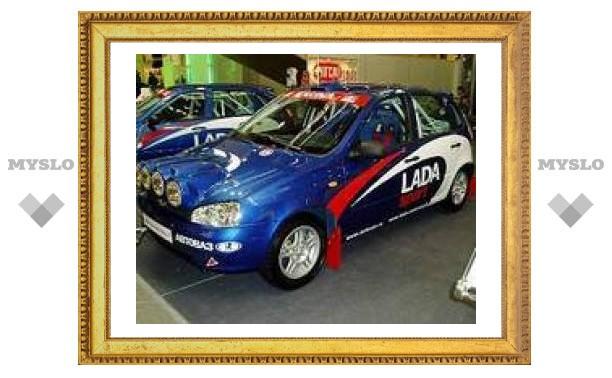 """АвтоВАЗ"" представил Lada Kalina Rally"